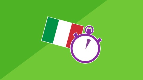 Image of Course: 3 Minute Italian - Course 1 | Language lessons for beginners